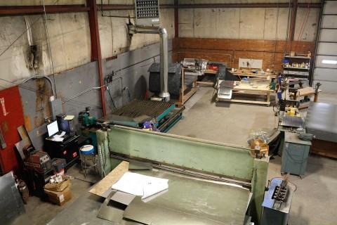 Danbury Winair Sheet Metal Fabrication Shop